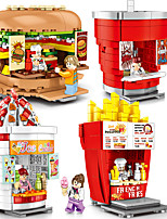 cheap -Building Blocks 209 pcs Snack Car compatible Legoing Simulation All Toy Gift / Kid's