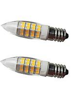 cheap -2pcs 5 W LED Corn Lights LED Bi-pin Lights 500 lm E14 G9 50 LED Beads SMD 2835 Decorative Warm White 220-240 V