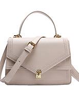 cheap -Women's Zipper PU Top Handle Bag Lattice Black / Brown / Wine