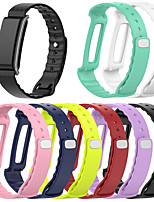 cheap -Watch Band for Huawei Honor A2 Huawei Sport Band Silicone Wrist Strap