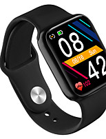 cheap -Smartwatch Digital Modern Style Sporty Silicone 30 m Water Resistant / Waterproof Heart Rate Monitor Bluetooth Digital Casual Outdoor - Black White Green