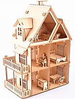abordables -Puzzles 3D Puzzles en bois Architecture Simulation Fait à la main En bois 218 pcs Enfant Adulte Tous Jouet Cadeau
