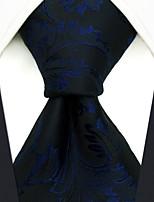 cheap -Men's Party / Work / Basic Necktie - Floral / Jacquard