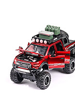 cheap -1:32 Toy Car Vehicles Chariot Transporter Truck Construction Truck Set SUV Climbing Car Glow Focus Toy Parent-Child Interaction Zinc Alloy Rubber Boys' Girls' / Kids