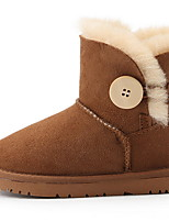 cheap -Girls' Snow Boots Suede Boots Big Kids(7years +) Brown Winter / Booties / Ankle Boots
