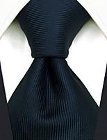 cheap -Men's Party / Work / Basic Necktie - Check / Jacquard
