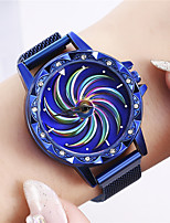 cheap -Women's Quartz Watches Casual Fashion Black Blue Silver Alloy Quartz Black Rose Gold Purple New Design Casual Watch Adorable Analog