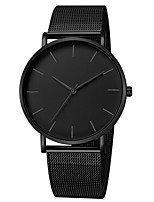 cheap -Women's Quartz Watches Fashion Silver Gold Alloy Chinese Quartz Black Golden+Black Golden+White Cool 30 m 1 pc Analog One Year Battery Life
