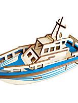 abordables -Puzzles 3D Puzzles en bois Bateau Navire pirate Simulation Fait à la main En bois 27/33 pcs Bateau Enfant Adulte Tous Jouet Cadeau