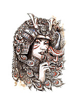 cheap -1 pcs Temporary Tattoos Water Resistant / Disposable Face / Body Water-Transfer Sticker Tattoo Stickers