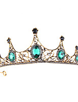cheap -Lolita Tiaras Wreaths Retro Vintage Gothic Alloy Crown Masquerade For Party / Cocktail Festival Halloween Carnival Women's Costume Jewelry Fashion Jewelry