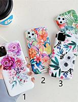 cheap -Case For Apple iPhone 11 / iPhone 11 Pro / iPhone 11 Pro Max Pattern Back Cover Flower TPU X XS XSmax XR 6 6plus 6splus 6s 7 7plus 8 8plus