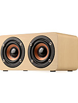 cheap -Luxury Wooden Bluetooth wireless speaker portable Subwoofer super bass Wireless receiver TF AUX Handsfree call speaker for music