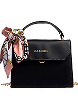 cheap -Women's Sashes / Ribbons Polyester / PU Top Handle Bag Solid Color Black / Yellow / Green