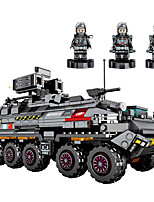 cheap -Building Blocks Military Blocks Vehicle Playset 811 pcs Military compatible Legoing Simulation Military Vehicle All Toy Gift / Kid's / Educational Toy