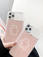 cheap -Case For Apple iPhone 11 / iPhone 11 Pro / iPhone 11 Pro Max IMD / Mirror / Pattern Back Cover Cartoon Tempered Glass for iPhone X XS XR XS MAX 8 8PLUS 7 7PLUS 6 6PLUS 6S 6S PLUS
