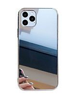 cheap -Case For Apple iPhone 11 / iPhone 11 Pro / iPhone 11 Pro Max Shockproof / Mirror Back Cover Solid Colored PC