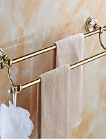 cheap -Double Towel Bar New Design Modern Brass 1pc - Bathroom / Hotel bath Single Wall Mounted