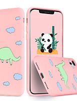abordables -coque pour iphone 11 pro x xs max xr xs coque arrière tpu roman motif léopard soft tpu pour iphone5 5s se 6 6p 6s sp 7 7p 8 8p16 * 8 * 1