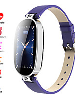 cheap -Smartwatch Digital Modern Style Sporty PU Leather 30 m Water Resistant / Waterproof Heart Rate Monitor Bluetooth Digital Casual Outdoor - Black black / gold Black / Silver