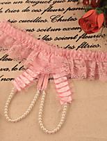 cheap -Women's Lace G-strings & Thongs Panties - Normal Low Waist Purple Blushing Pink Fuchsia One-Size