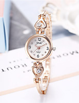 cheap -Women's Quartz Watches Casual Fashion Silver Gold Alloy Quartz Gold Silver New Design Casual Watch Adorable Analog