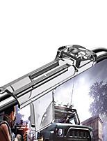 abordables -transparent pour pubg mibile jeu téléphone manette de jeu déclencheur bouton de tir objectif clé téléphone intelligent jeux mobiles l1r1 tireur contrôleur