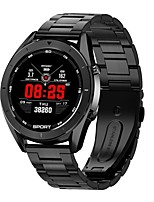 cheap -Smartwatch Digital Modern Style Sporty 30 m Water Resistant / Waterproof Heart Rate Monitor Bluetooth Digital Casual Outdoor - Black Black / Silver Gold