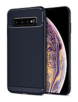 cheap -Case for Samsung scene map Samsung Galaxy S10 S10e S10 Plus A10 A10s Armor series frosted TPU material all-inclusive mobile phone case