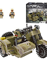 cheap -Building Blocks 256 pcs Military compatible Legoing Simulation Military Vehicle All Toy Gift / Kid's