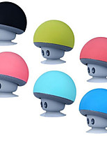cheap -BT Music Holder Speaker Cartoon Mushroom Head Suction Cup Creative Mini Mobile Phone Flat Bracket Portable Outdoor Audio