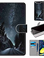 cheap -Case For Samsung Galaxy S10 / S10 Plus / S10 E Wallet / Card Holder / with Stand Starry Sky PU Leather / TPU for A10s / A20s / A50(2019) / A70(2019) / A90(2019) / Note 10 Plus / J6 Plus(2018)