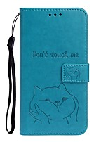 cheap -Case For Samsung Galaxy S9 / S9 Plus / S8 Plus Wallet / Card Holder / with Stand Full Body Cases Solid Colored / Animal PU Leather For Galaxy S8/S10/S10E/S10 Plus/Note 10 Plus/J4 Plus/J6 Plus/Note 10