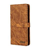 abordables -Coque Pour Apple iPhone 11 / iPhone 11 Pro / iPhone 11 Pro Max Portefeuille / Porte Carte / Antichoc Coque Intégrale Couleur Pleine faux cuir