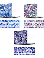 cheap -Mac Keyboard Cover & MacBook Case Bohemian Style / Flower Plastic for New MacBook Pro 15-inch / New MacBook Pro 13-inch / New MacBook Air 13 2018