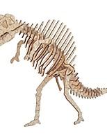 abordables -Puzzles 3D Puzzles en bois Dinosaure Simulation Fait à la main En bois 54/23/38 pcs Enfant Adulte Tous Jouet Cadeau