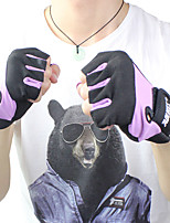 cheap -AOLIKES Workout Gloves 2 pcs Sports Lycra Exercise & Fitness Weightlifting Boxing Training Durable Full Palm Protection & Extra Grip Breathable For Men Women