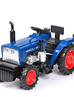 cheap -1:32 Toy Car Vehicles Construction Vehicle Construction Truck Set Farm Vehicle Glow Talking Simulation Zinc Alloy Rubber All Boys and Girls / Kids