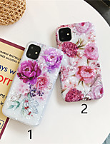 cheap -Case For Apple iPhone 11 / iPhone 11 Pro / iPhone 11 Pro Max Pattern Back Cover Flower TPU X XS XSmax XR 6 6plus 6splus 6s 7 7plus 8 8plus