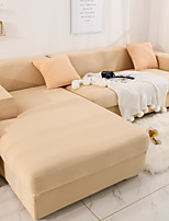 cheap -Sofa Cover Solid Colored / Neutral / Contemporary Printed Polyester Slipcovers