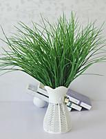 abordables -simulation printemps herbe haut de gamme faux fleur eau herbe en forme de v herbe verte plantation arrangement floral avec de l'herbe