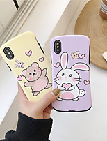 cheap -Case For Apple iPhone 11 / iPhone 11 Pro / iPhone 11 Pro Max Frosted / Pattern Back Cover Cartoon TPU for iPhone X XS XR XS MAX 8 8PLUS 7 7PLUS 6 6PLUS 6S 6S PLUS