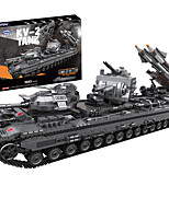 cheap -Building Blocks 3663 pcs Military compatible Legoing Simulation Tank All Toy Gift / Kid's
