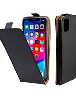 cheap -Case For Apple iPhone 11 / iPhone 11 Pro / iPhone 11 Pro Max Card Holder / Shockproof Full Body Cases Solid Colored TPU