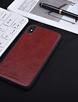 cheap -Case For Apple iPhone XS / iPhone XR / iPhone XS Max Shockproof / Transparent Back Cover Lines / Waves PU Leather