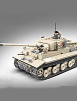 abordables -Blocs de Construction 1018 pcs Militaire compatible Legoing Simulation Tank Tous Jouet Cadeau / Enfant