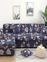 Недорогие -синяя цветочная печать пылезащитный всесильный чехлы-стрейч L-образный чехол для дивана супер мягкий чехол из ткани с одной бесплатной наволочкой