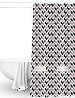 cheap -Shower Curtains & Hooks / Shower Curtains Classic / Modern PEVA Machine Made Waterproof / Creative / New Design Bathroom