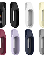 cheap -Watch Band for Xiaomi Band 3 / Xiaomi Mi Band 4 Wrist Band Silicon Strap Clasp Clip