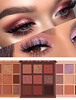 cheap -9 Colors Eyeshadow Palette Matte Shimmer Metallic Glitter Sparkling Highly Pigmented Long Lasting Waterproof Smoky Nude Eye Makeup